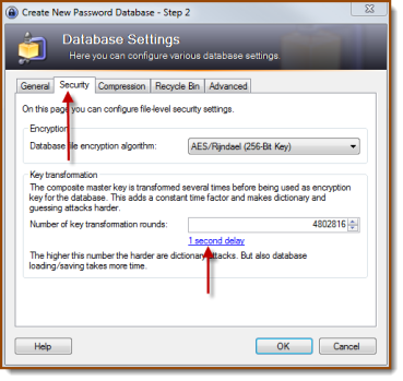 Keepass_Security_Setting_DB